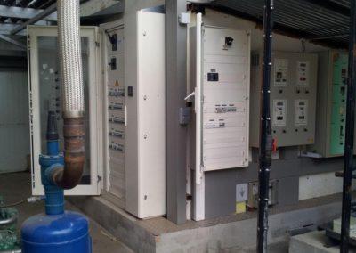 Distribució elèctrica i automatització per a càmares frigorífiques