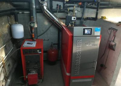 Instal·lació caldera biomassa
