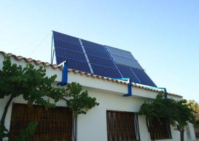 Instal·lació plaques solars