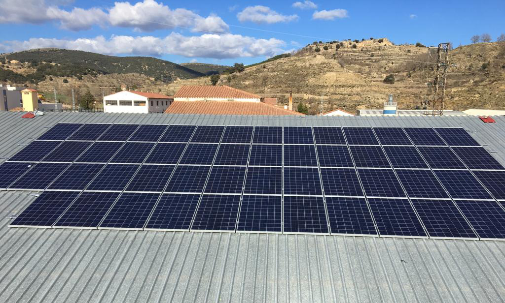 Instal·lació fotovoltaica Also Casals