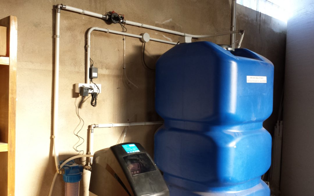 Instalación descalcificador de agua