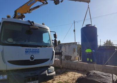 Instal·lació i automatització de planta depuradora