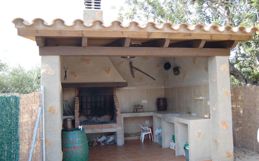 Construcció i instal·lació de barbacoa