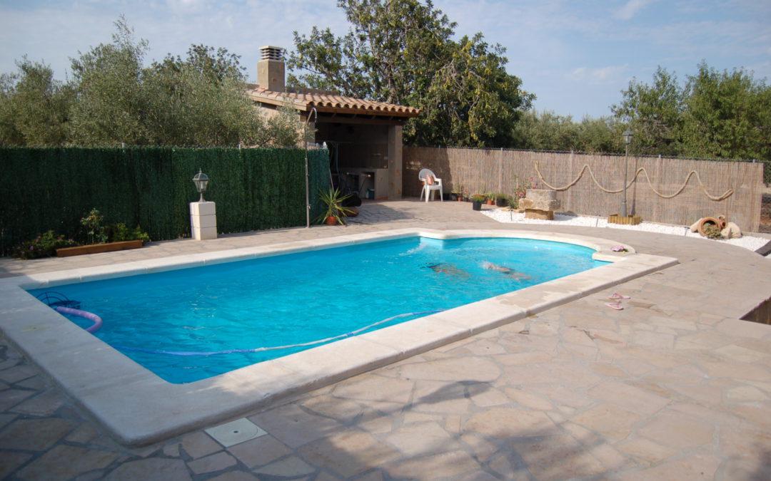 Construcció de piscina