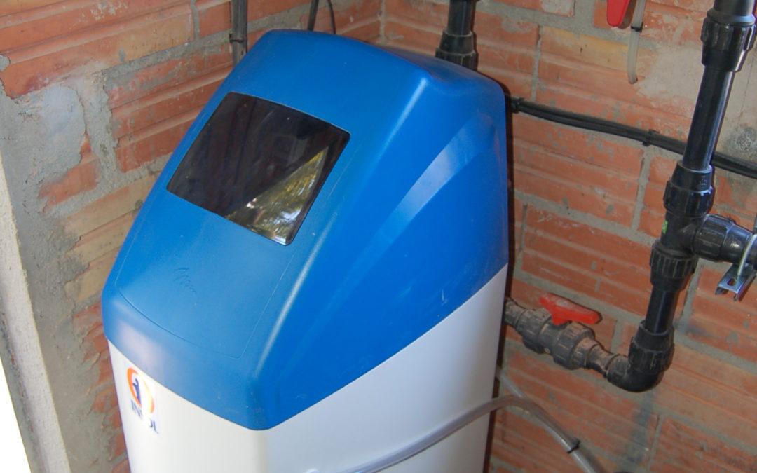 Instalación descalcificador de agua y osmosis