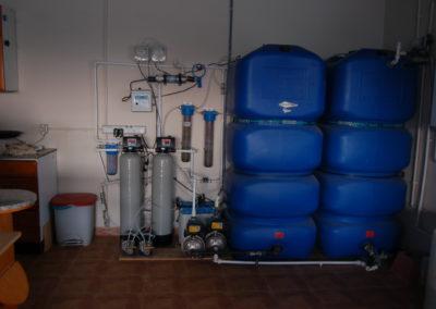Instal·lació descalcificador d'aigua