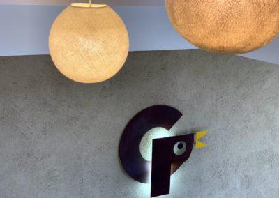 Il·luminació d'oficines Granjas El Pilar