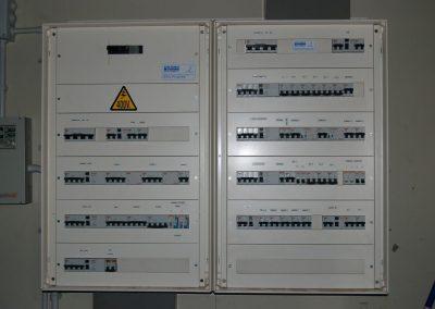Instal·lacions elèctriques nau industrial