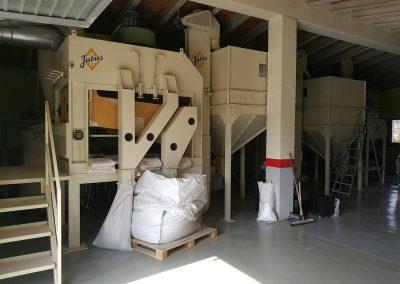 Reparacions a molí d'arròs