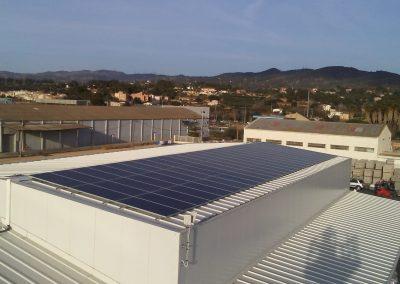 instal·lació solar d'autoconsum per a granja de 10kw